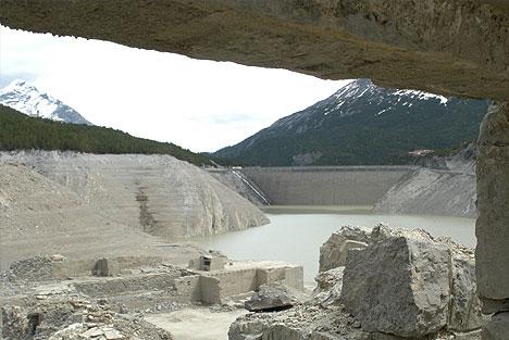 La vecchia diga di cancano